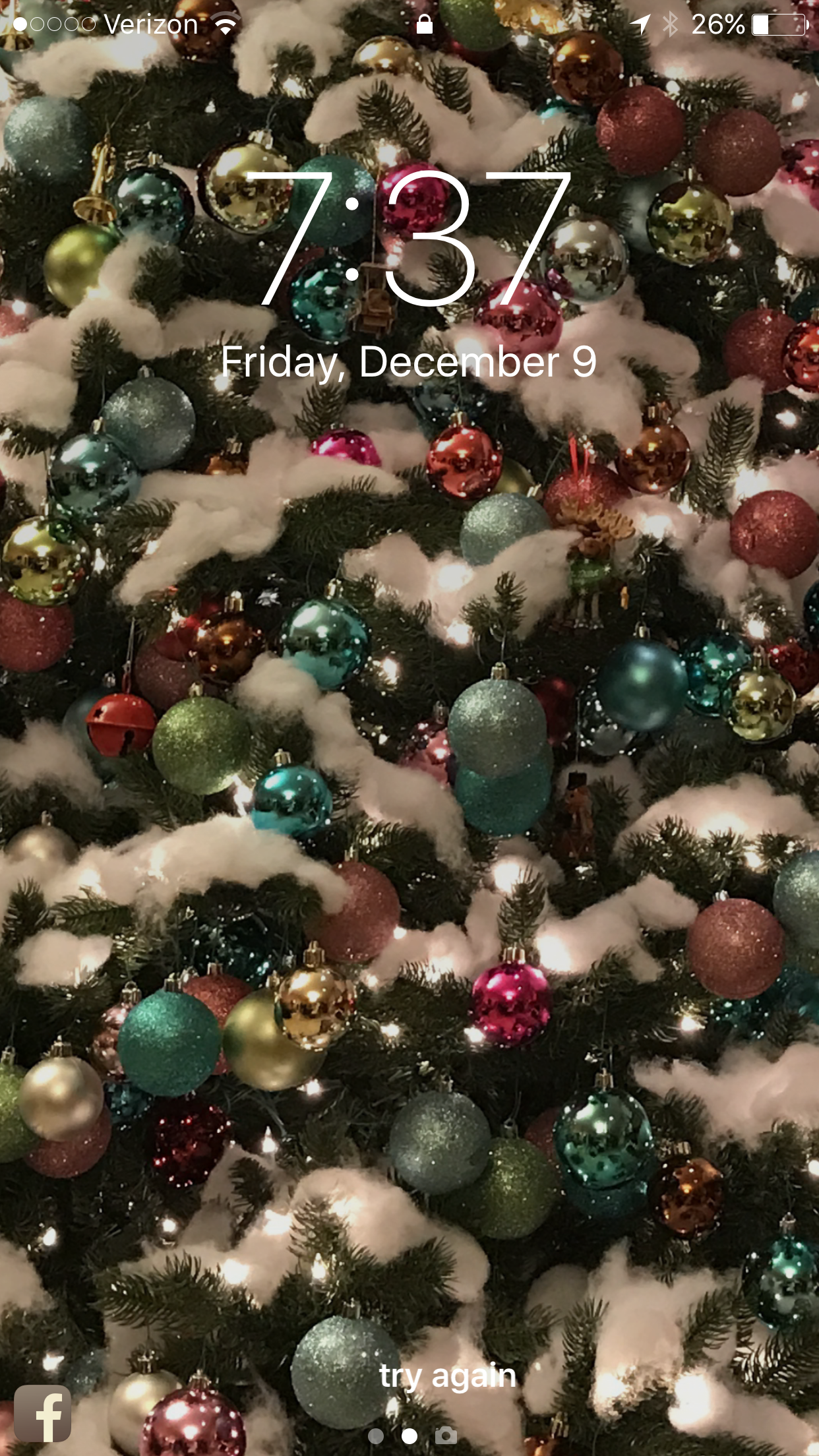 Phone background: Christmas Tree