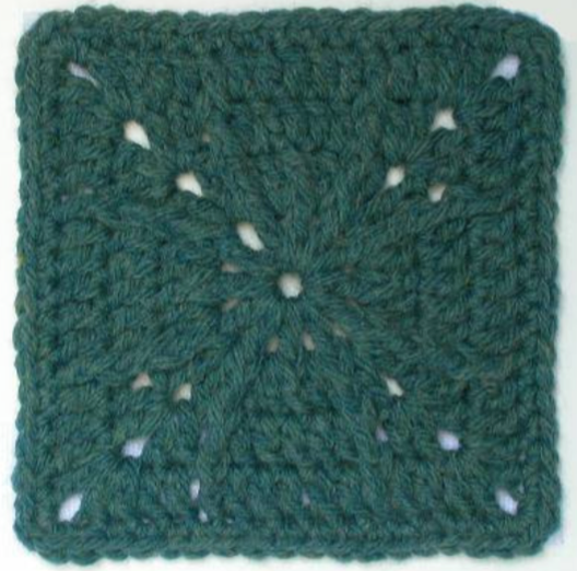 Free crochet afghan square pattern: Avatar - The Crochet Dude