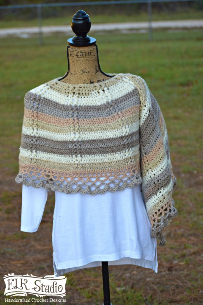 Free crochet pattern: Delightfully Southern Shawl