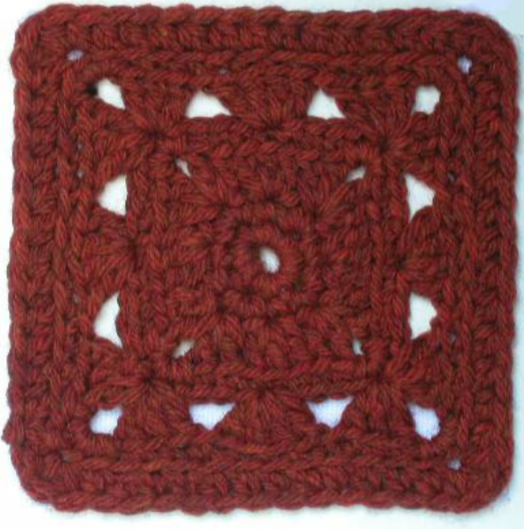 Free Crochet Afghan Square Pattern Pastiche The Crochet Dude