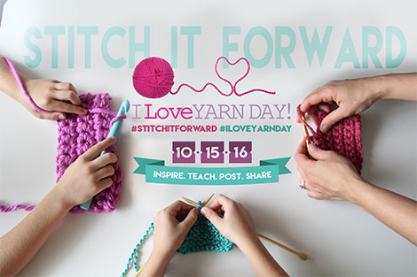 I Love Yarn Day 2016