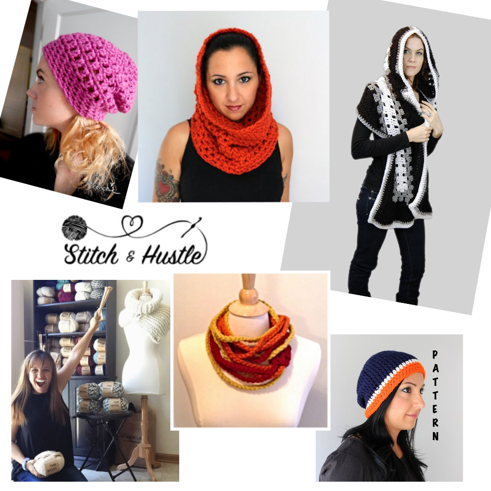 Five free pattern: Michele from Stitch & Hustle