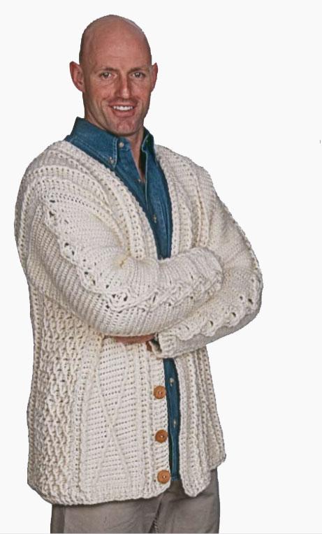 Free crochet pattern: To Aran Is Human by Drew Emborsky, aka The Crochet Dude