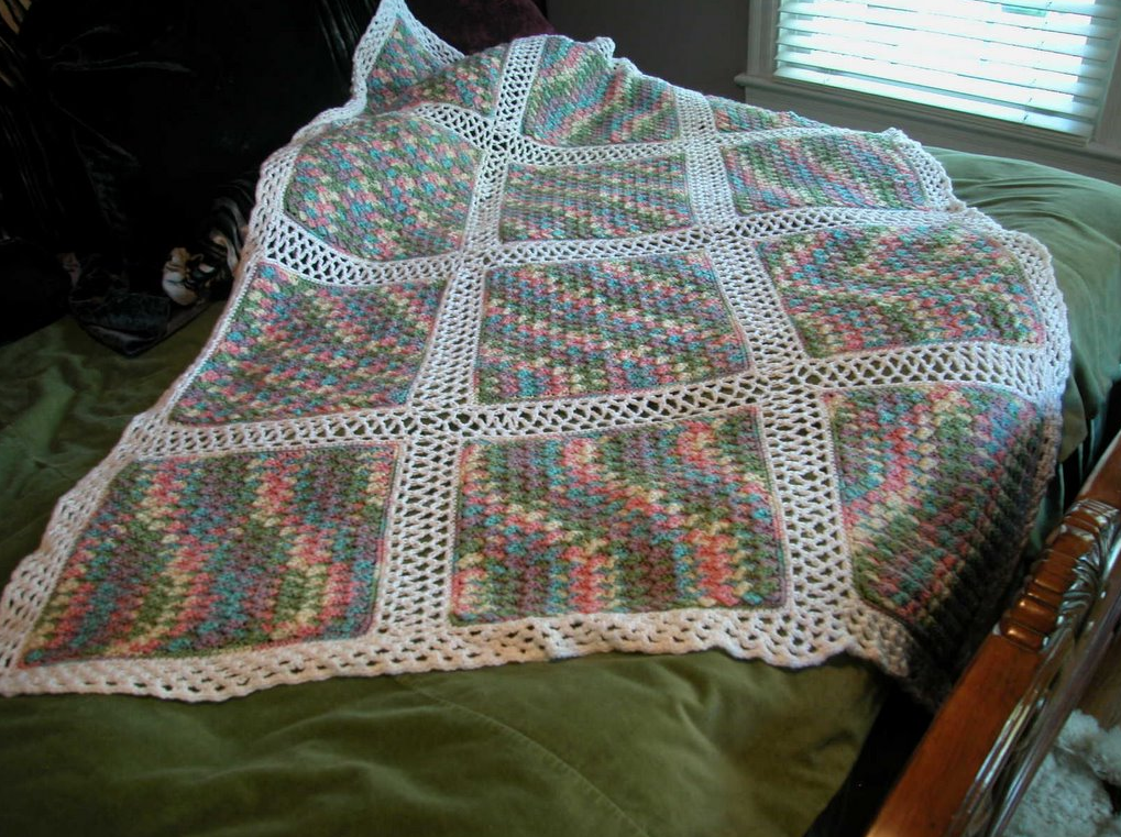 Free crochet pattern: Monet Afghan by Drew Emborsky, aka The Crochet Dude