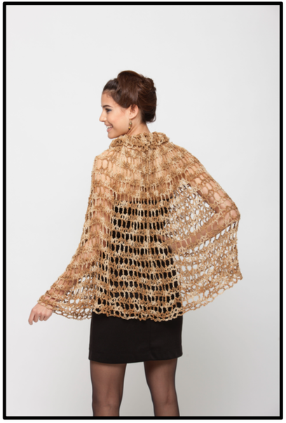Free crochet pattern: Starburst Cape by Drew Emborsky, aka The Crochet Dude