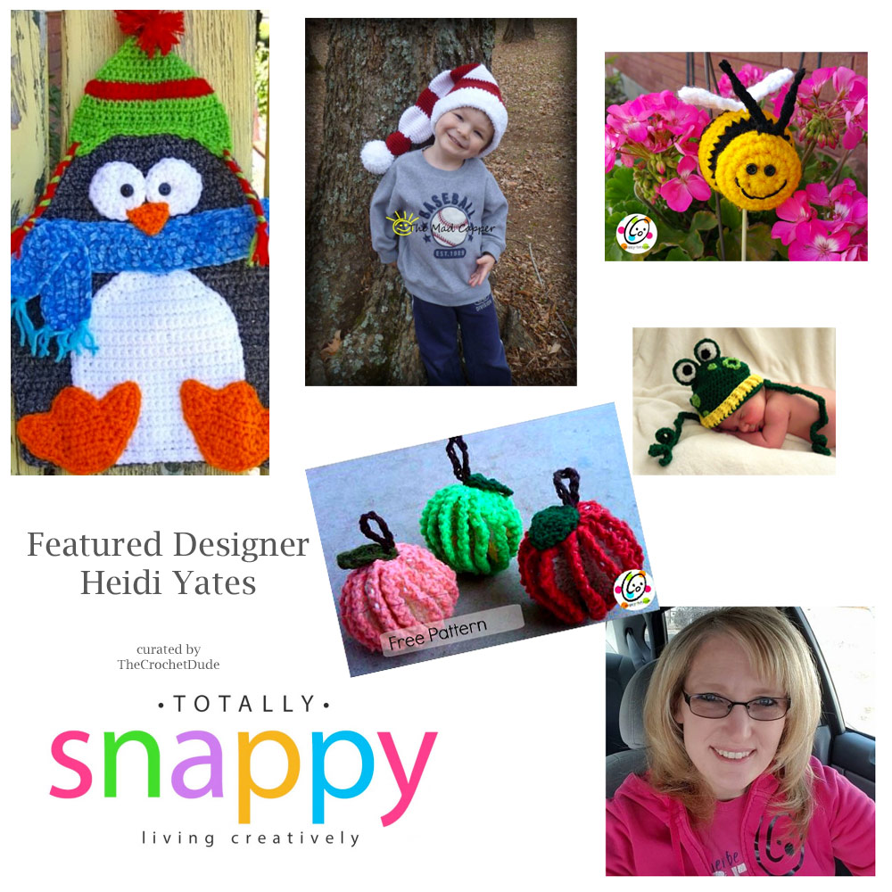 Five free patterns: Heidi Yates