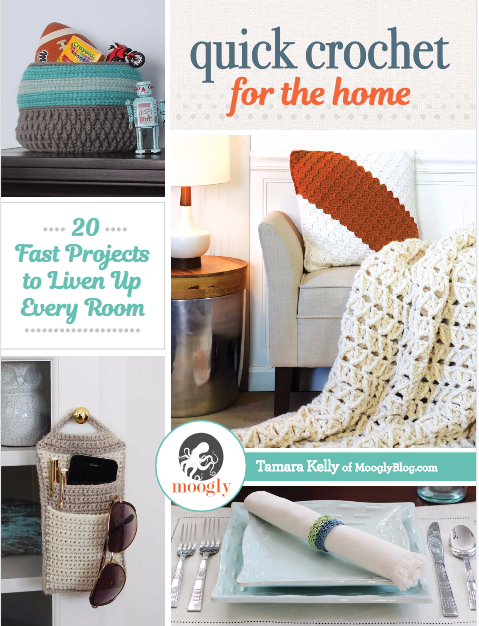 Quick Crochet For The Home by Tamara Kelly of MooglyBlog.com
