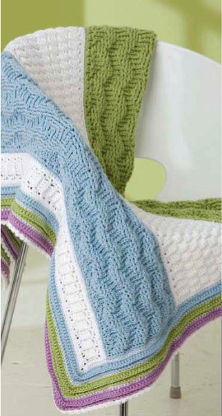 Free crochet pattern: Color Waves Afghan - The Crochet Dude
