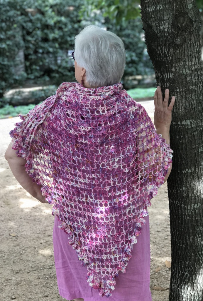 Free Crochet Shawl Pattern Danai The Crochet Dude