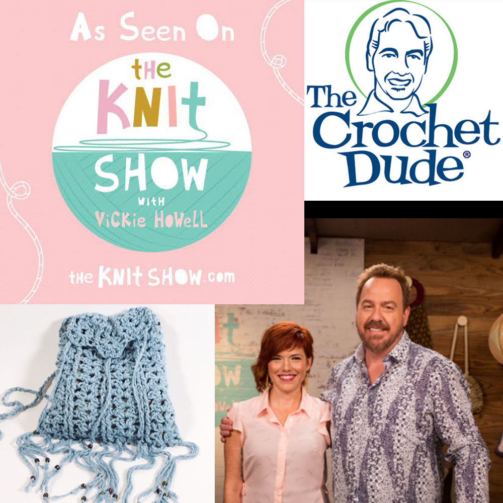 Boho Purse Demo On The Knit Show With Vickie Howell The Crochet Dude