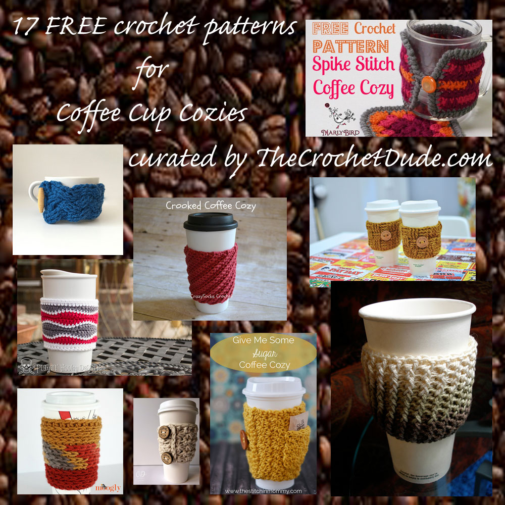 Coffee Cozy Pattern Awesome Decorating Design