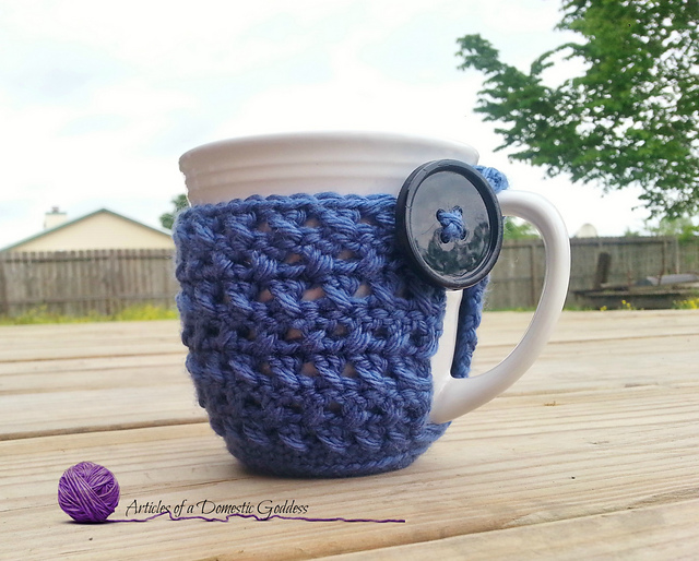 17 Free Crochet Patterns For Coffee Cup Cozies The Crochet Dude