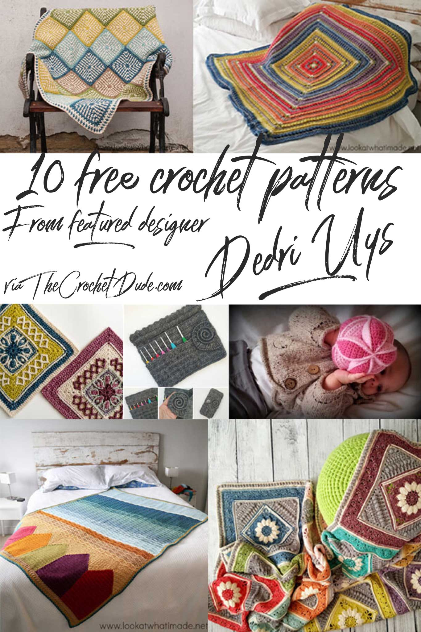 Featured designer Dedri Uys via TheCrochetDude